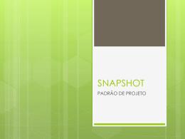 SNAPSHOT - Colegiado de Sistemas de Informação