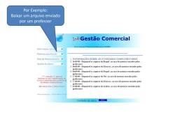 instruções para baixar arquivos pdf do site