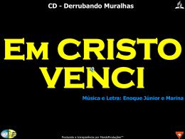 Em Cristo Venci