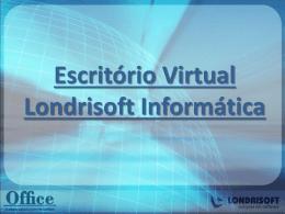 Escritório Virtual Londrisoft Informática