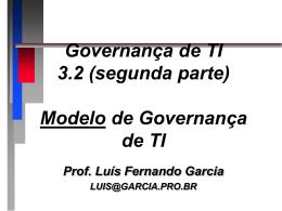 3.1 Portfolio de TI - Prof. Dr. Luis Fernando Garcia