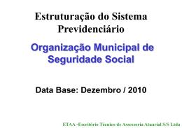 ETAA -Escritório Técnico de Assessoria Atuarial S/S Ltda