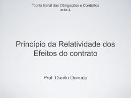 Slides - Relatividade - Acadêmico de Direito da FGV
