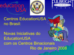 EducationUSA Educational Advising Centers