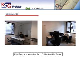 Slide 1 - KSG Projetos
