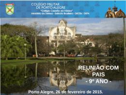 9º ANO - Colégio Militar de Porto Alegre