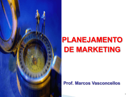 Planejamento de Marketing - Slides