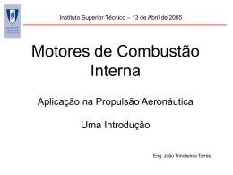 do motor - Técnico Lisboa