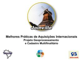 Município: Joinville - Unidade de Coordenação de Programas