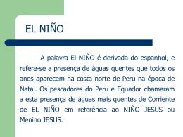 U15 - El Niño, La Niña e ODP