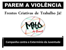 PAREM A VIOLÊNCIA