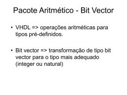 Pacote Aritmético