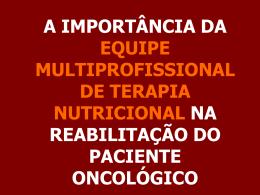 Equipe Multiprofissional de Terapia Nutricional