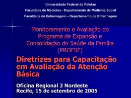 Exemplos de Diretrizes - Governabilidade