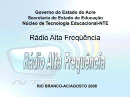 Rádio Alta Freqüência - Acre