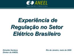 Edvaldo Santana, Diretor da Agência Nacional de Energia