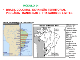 MÓDULO 4 - EXPANSÃO TERRITORIAL