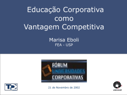 Conceituando Universidade Corporativa