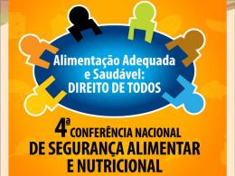 Plano Nacional de Segurança Alimentar e Nutricional