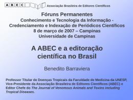 1-A ABEC e a editoração científica no Brasil.