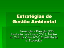 Slides Estratégias de Gestão Ambiental