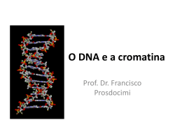 O empacotamento do DNA no núcleo