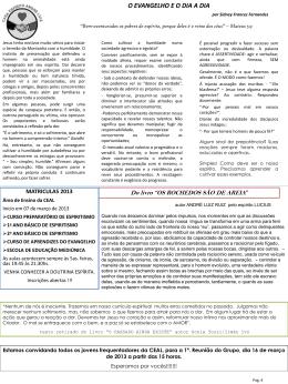 Jornal CEAL edição março/abril 2013