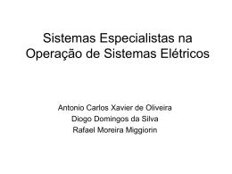 """""""Sistema Especialistas para Detecção de Falhas em Comandos"""