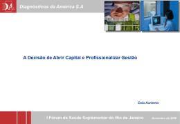 Apresentação Dr. Caio Auriemo