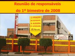 Calendário 1º Bimestre 2007