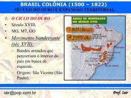 século do ouro e expansão territorial