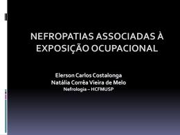 Nefropatias ocupacionais