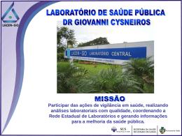 Regionais - Estado de Goiás
