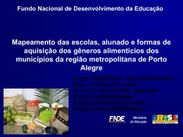 Gêneros alimentícios da Região metropolitana de Porto Alegre