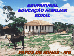Projeto Edufa Rural Patos de Minas