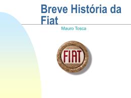 Breve História da Fiat