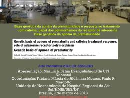 Displasia Broncopulmonar: breve revisão da literatura sobre os