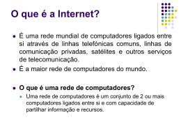 Breve História dos Computadores