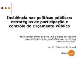Orçamento Público - Câmara Municipal de Belo Horizonte