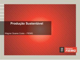 Seminário de Produção e Consumo Sustentável
