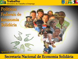 MSF_Politicas_Federais_Economia_Solidaria
