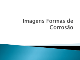 Imagens Formas de corrosão-simplificada
