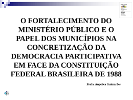 REFLEXÕES FINAIS - Governo do Estado da Bahia
