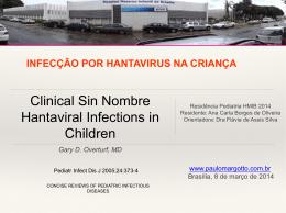 Infecção por hantavirus na criança