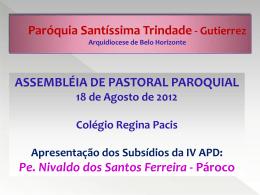 diretrizes gerais da ação evangelizadora