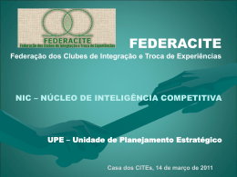 UPE - Federacite