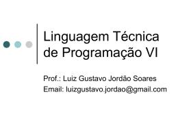 Linguagem de Programação VI