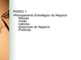 missão - Logistica Anhanguera