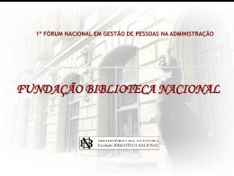conhecendo a biblioteca nacional