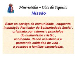 Missão - Misericórdia